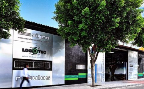 rotulos luminosos en Malaga y Marbella Logotec3d