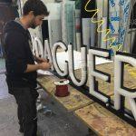 Letras corpóreas en Marbella
