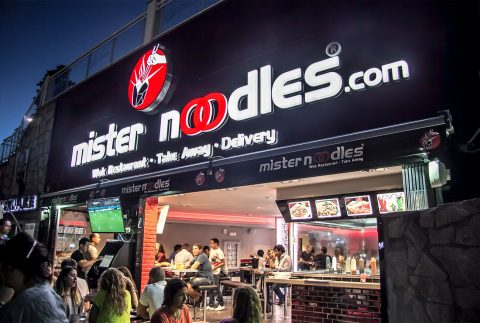 Rotulos Mr Noodles Marbella