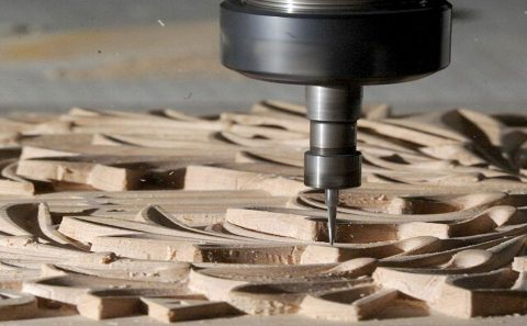Grabado en madera Corte CNC