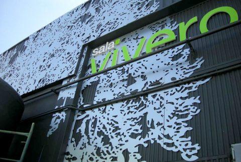 decoracion fachada sala vivero