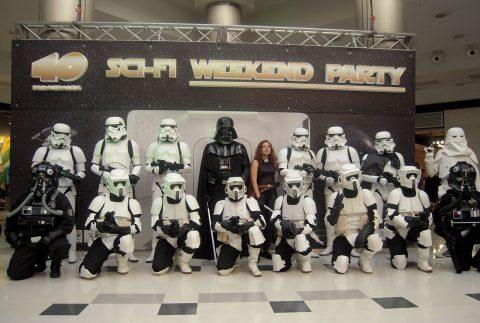 Sci Fi Weekend Corte de Poliestireno