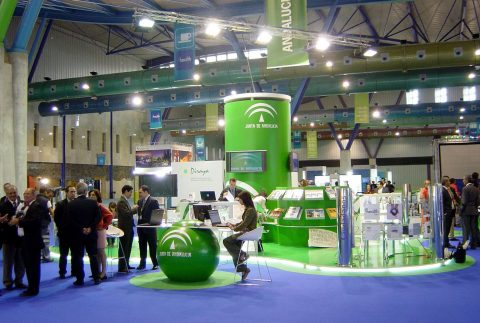 Junta de Andalucía Stands Diseño