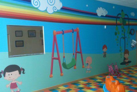 Guardería Babys Foto Mural