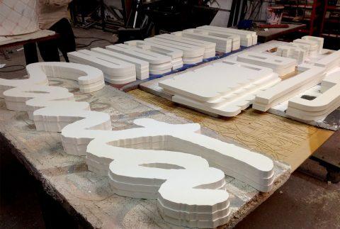 Corte en PVC Corte CNC