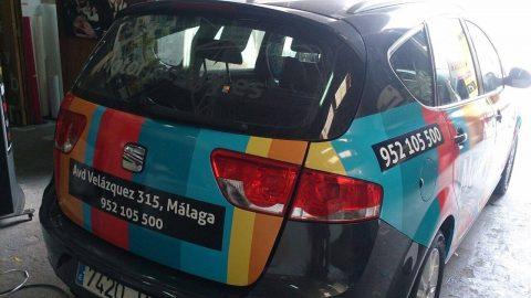 Rotulación de vehículos Málaga y Marbella