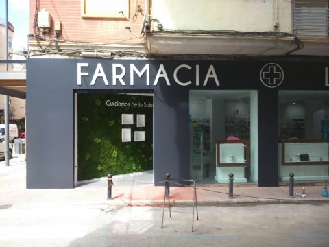 Fachada Farmacia Lepanto