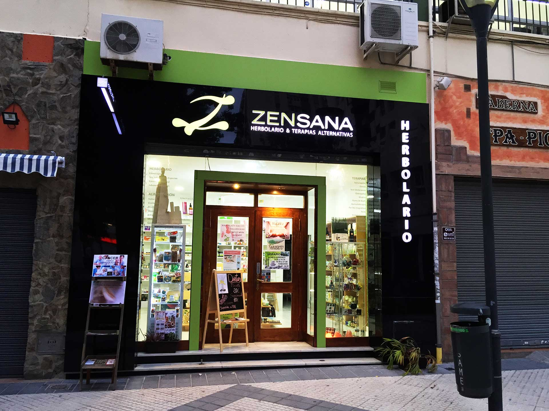 fachada decorativa en Málaga