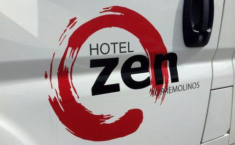 Hotel Zen Rotulación de Vehículos