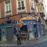Figuras corpóreas para la fachada de Patatas Paco José (Málaga)